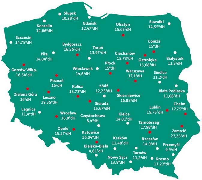 mapa-twardosci-wody-w-polsce